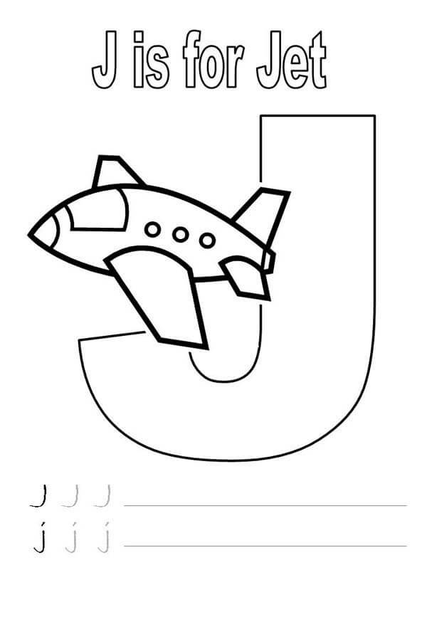 Letter J Worksheets for Preschool