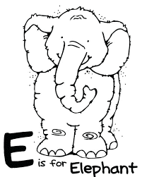 Letter E Worksheets for Preschool