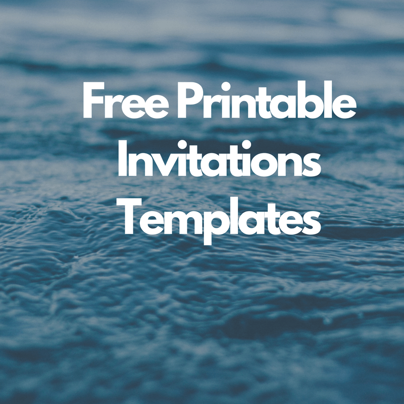Free Printable Invitations Templates