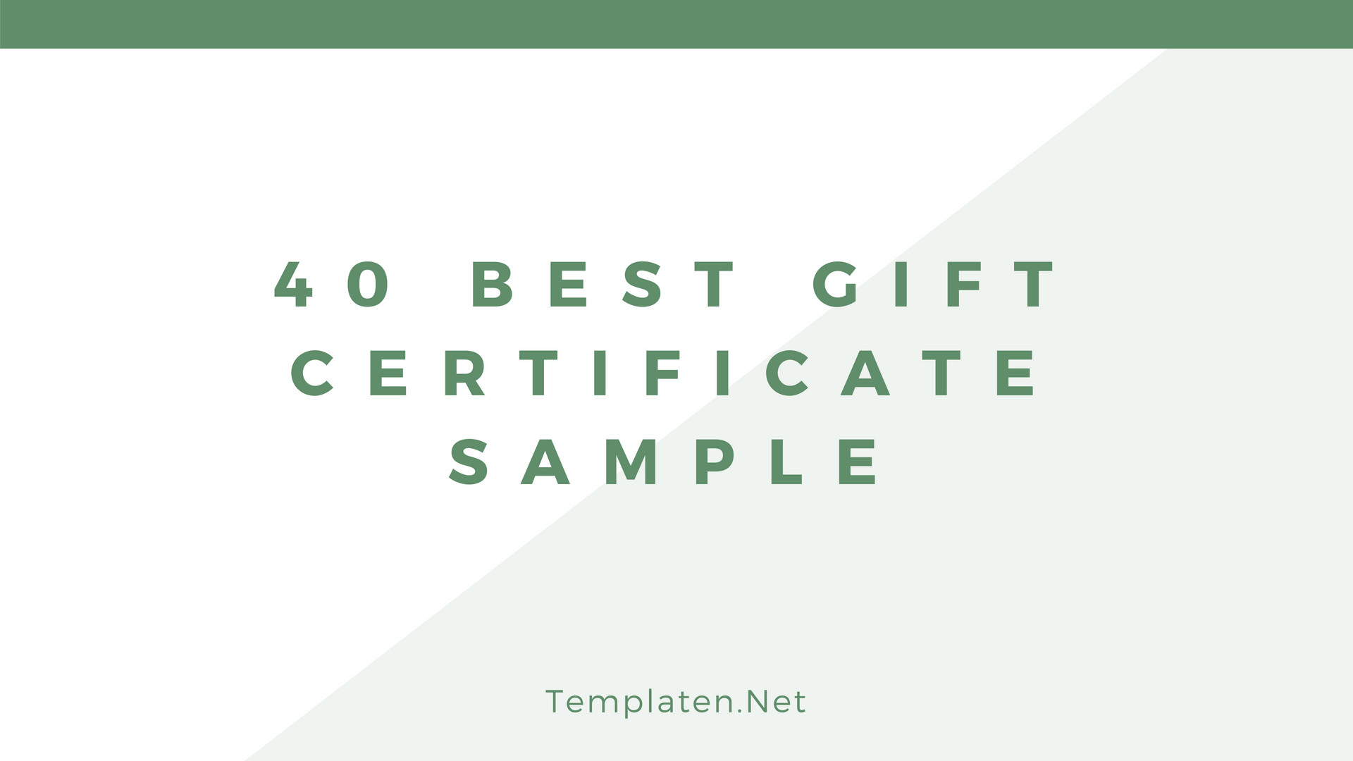 40 Best Gift Certificate Sample Templates Free Example Format