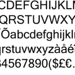 Microsoft Sans Serif Font Best Email Signature Fonts