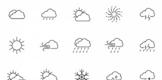 20 Free Weather Vector Icons (AI)