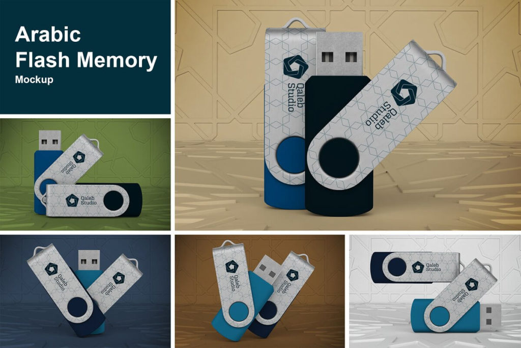 Arabic Flash Memory Mockup