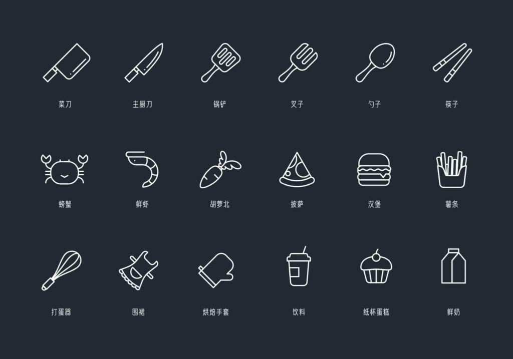 Free Ingenious Cook icons in AI