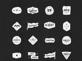 20 Free Ink Logos (AI)
