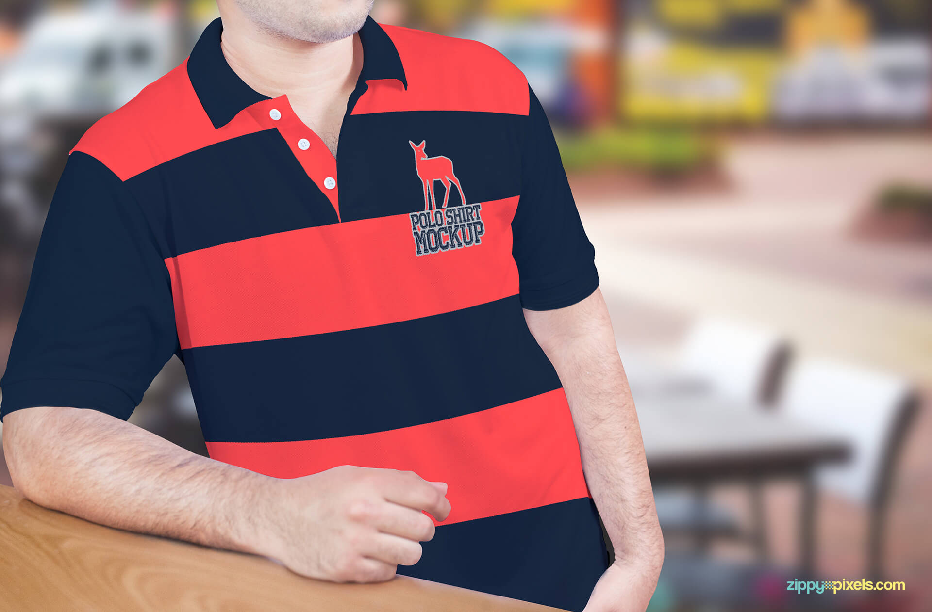 Amazing Free Polo Shirt Mockup