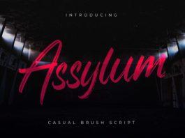 Assylum Script Font