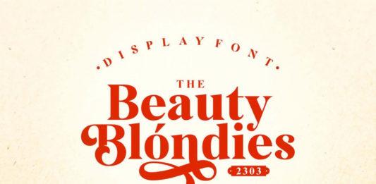 Beauty Blondies Typeface