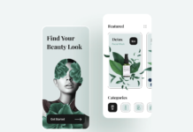 Beauty Shop Mobile App