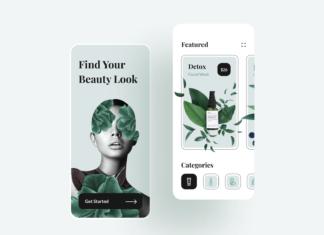 Beauty Shop Mobile App
