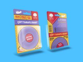 Blister Packaging Box Mockup