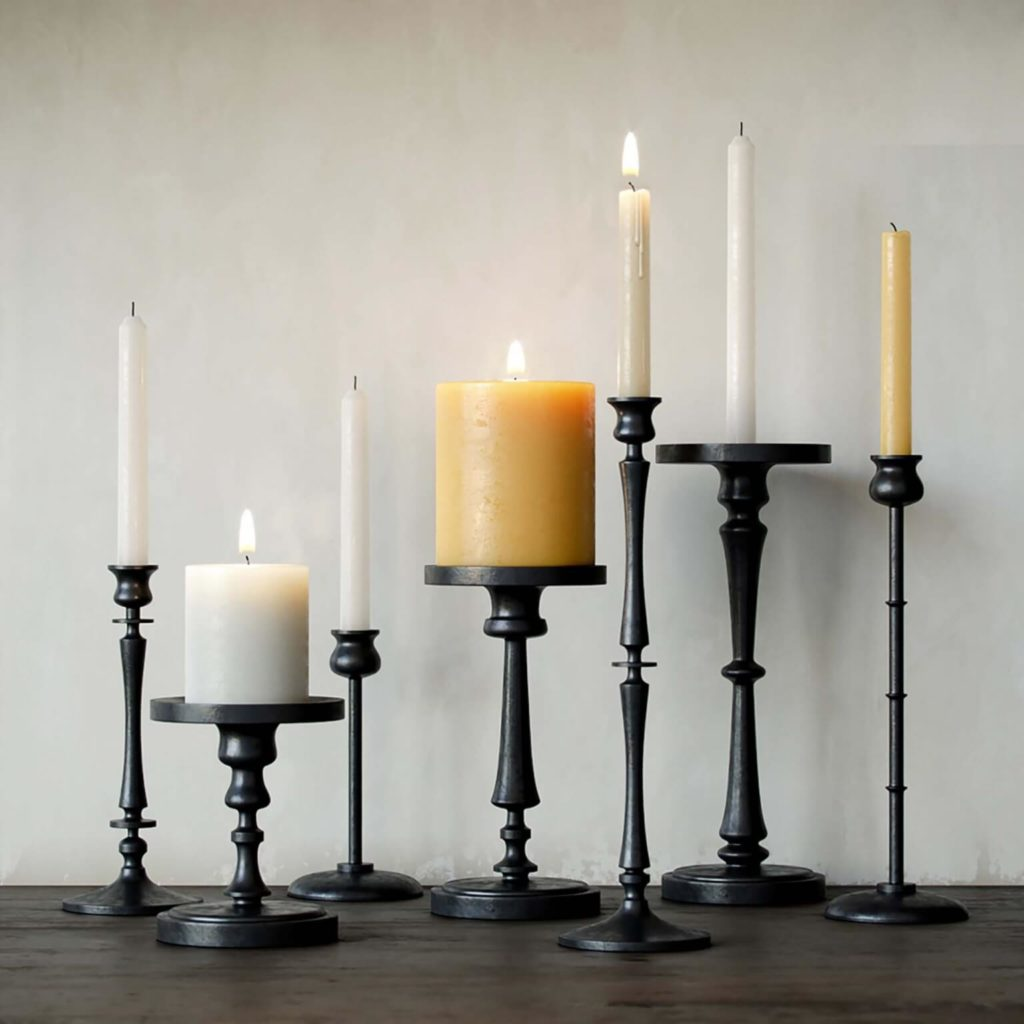 Decorative Candlesticks 3D Models Template