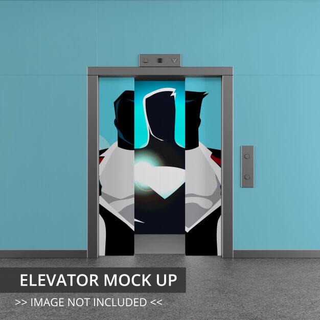 21 Complete Elevator PSD Template