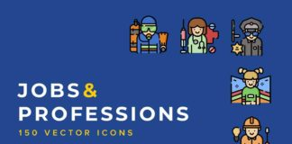 Free Jobs and Professions Icons (SVG)