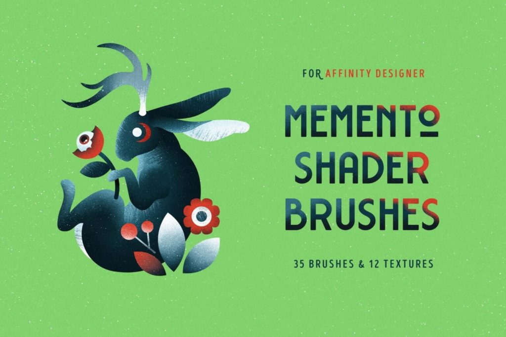 Free Colorful Shader Affinity Brushes Set in AF