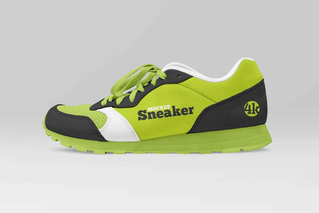Free Modern Sneaker Template in PSD