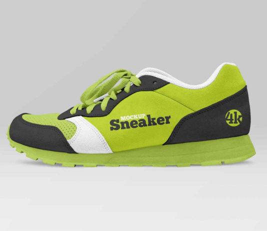 Free Sneaker Mockup (PSD)