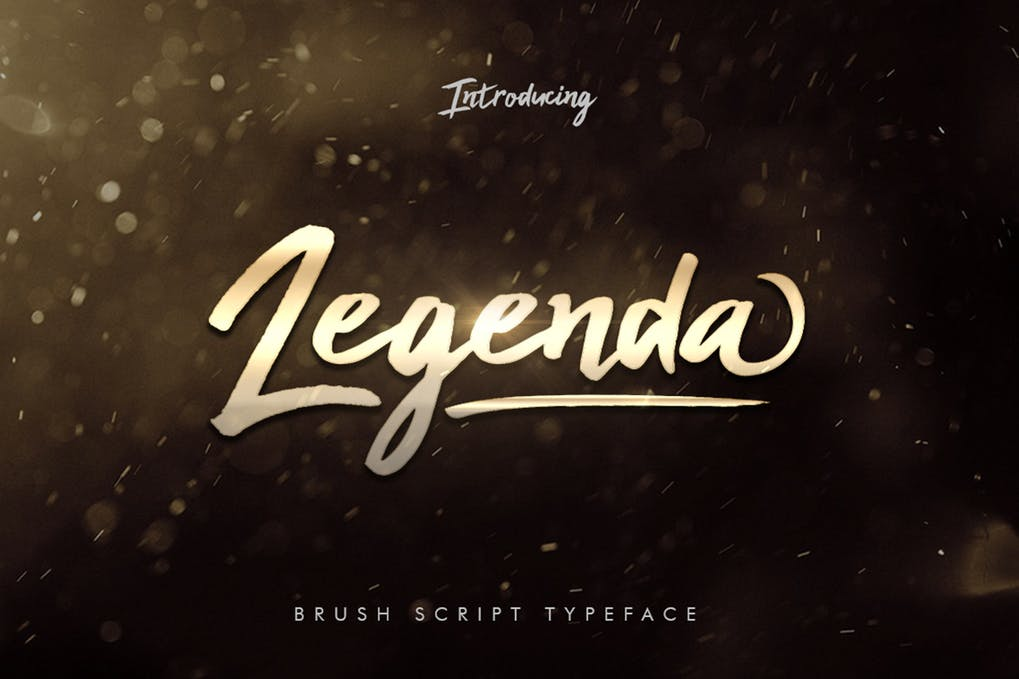 Legenda Brush Script