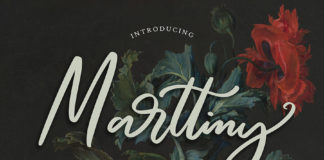 Marttiny Modern Script Font