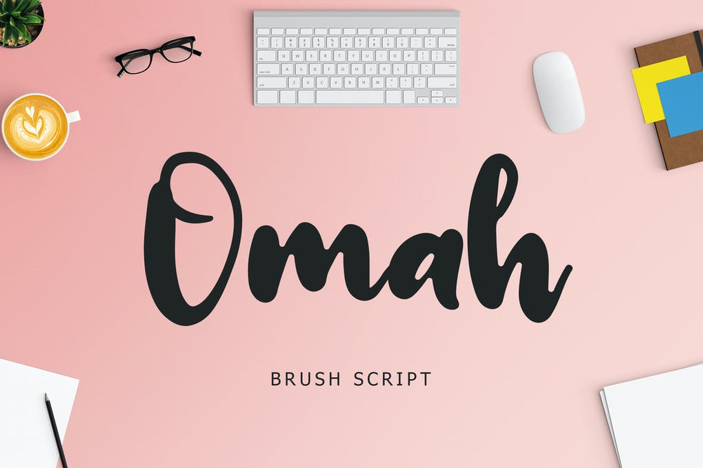 Omah Brush Script Font