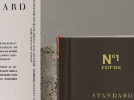 Psd Notebook Stationery Mockup 2