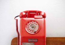 Retro Old Phone 3D Model