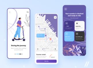 Scooter Rental App Design