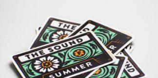 The Sound of Summer Sticker