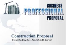 Business Professional Proposal Template in DOC