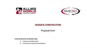 Design Construction Proposal Template in PDF