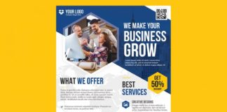 Free Business Flyer Template (PSD)