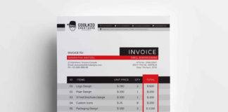 Free Business Invoice Template (AI)