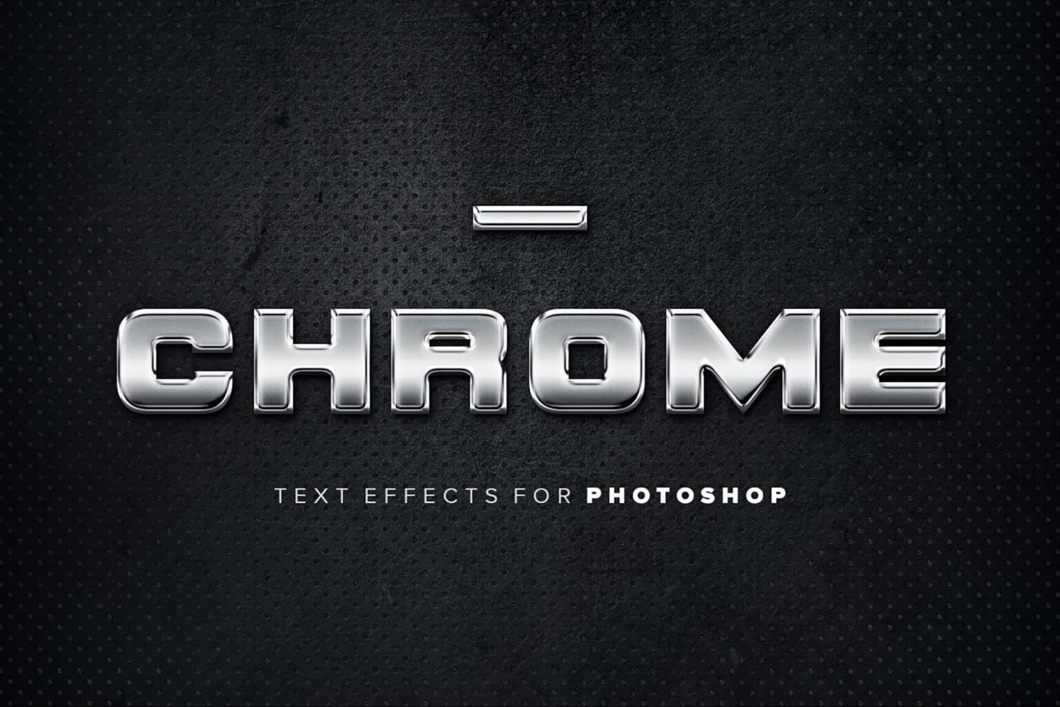 Free Chrome Text Effects (PSD)