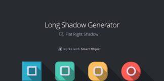 Free Flat Shadow Generator (PSD)