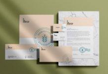 Free Full Stationery Branding Mockup (PSD)