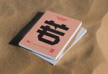 Free Thick Magazine Mockup (PSD)