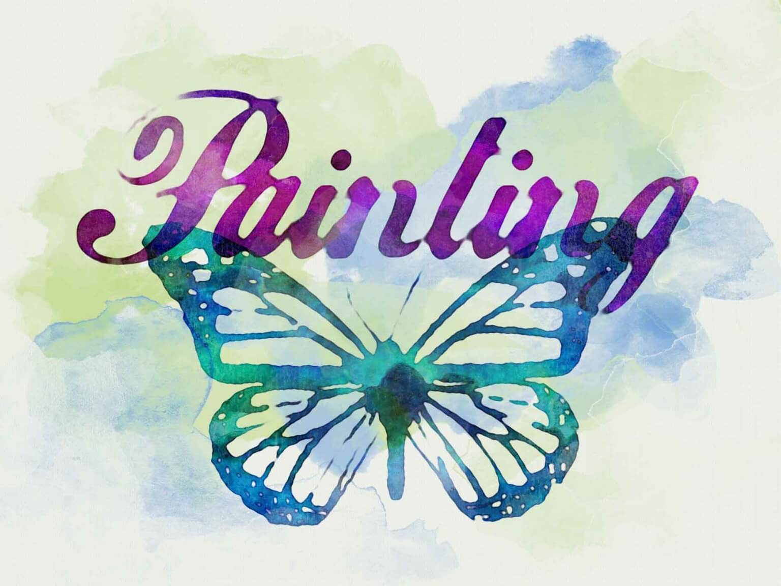 Free Watercolor Text Effect (PSD)