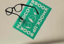 Psd Hardcover Book Presentation Mockup