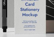 Psd Office Stationery Mockup Set