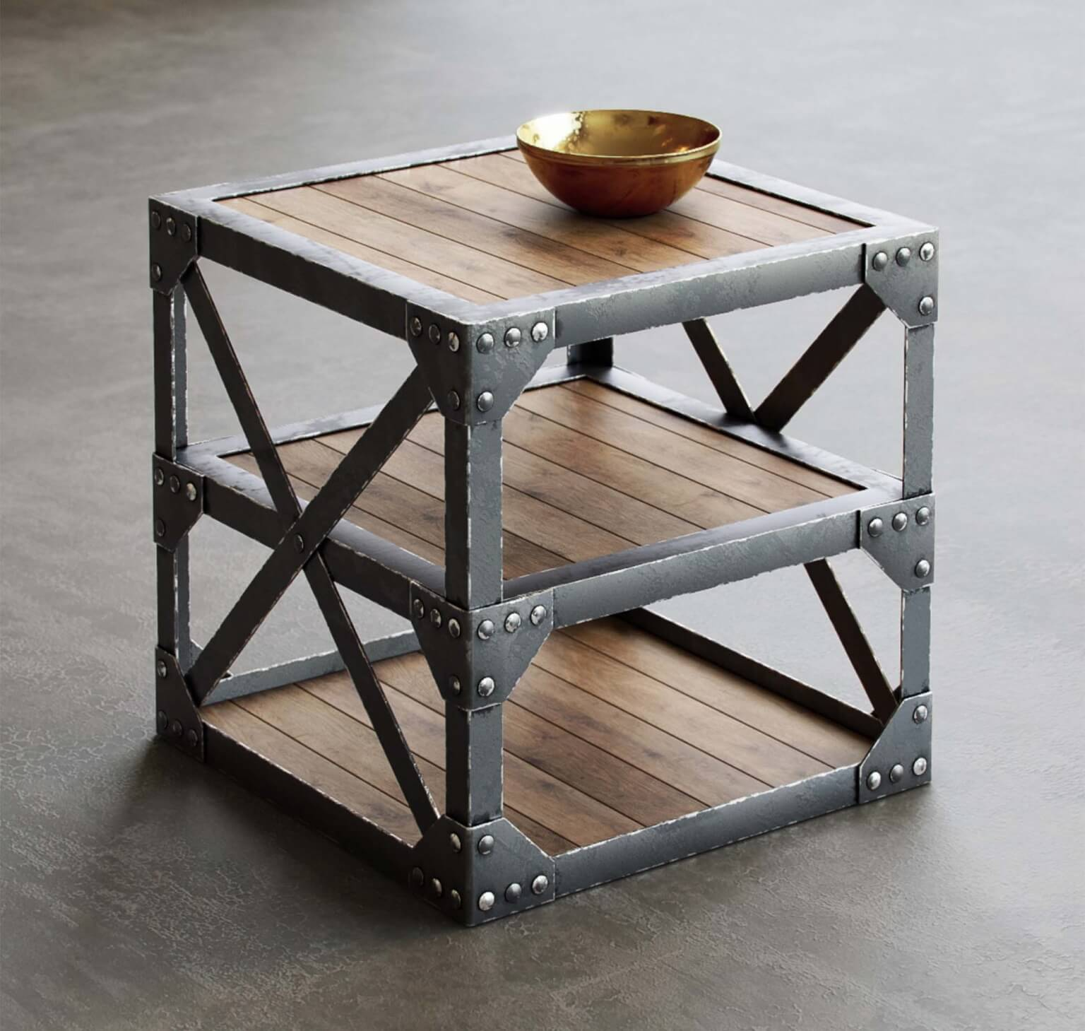 Vintage Style Table 3D Model