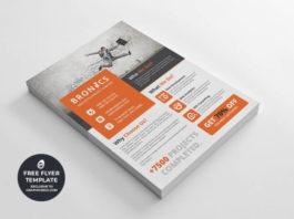 Corporate multipurpose flyer template #3