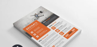 Corporate multipurpose flyer template #3