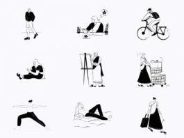 Free Indian Doodle Illustration Pack (AI, FIG, SKETCH)