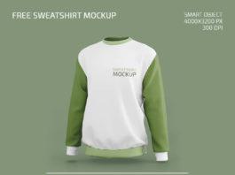 Free Sweatshirt Mockup in PSD