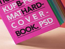 Hardcover Psd Book Mockup Presentation