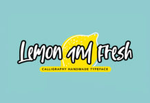 Lemon and Fresh Handmade Font