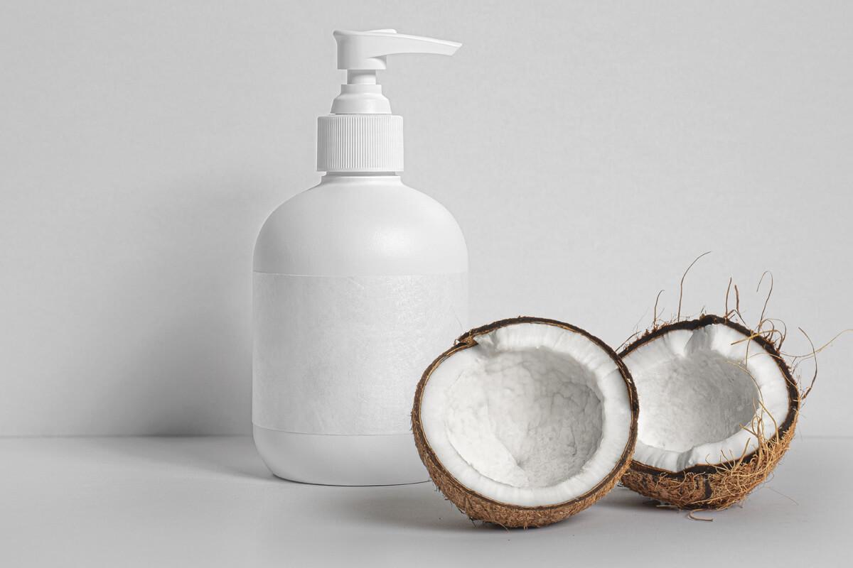 Free Liquid Soap Bottle Mockup PSD Template