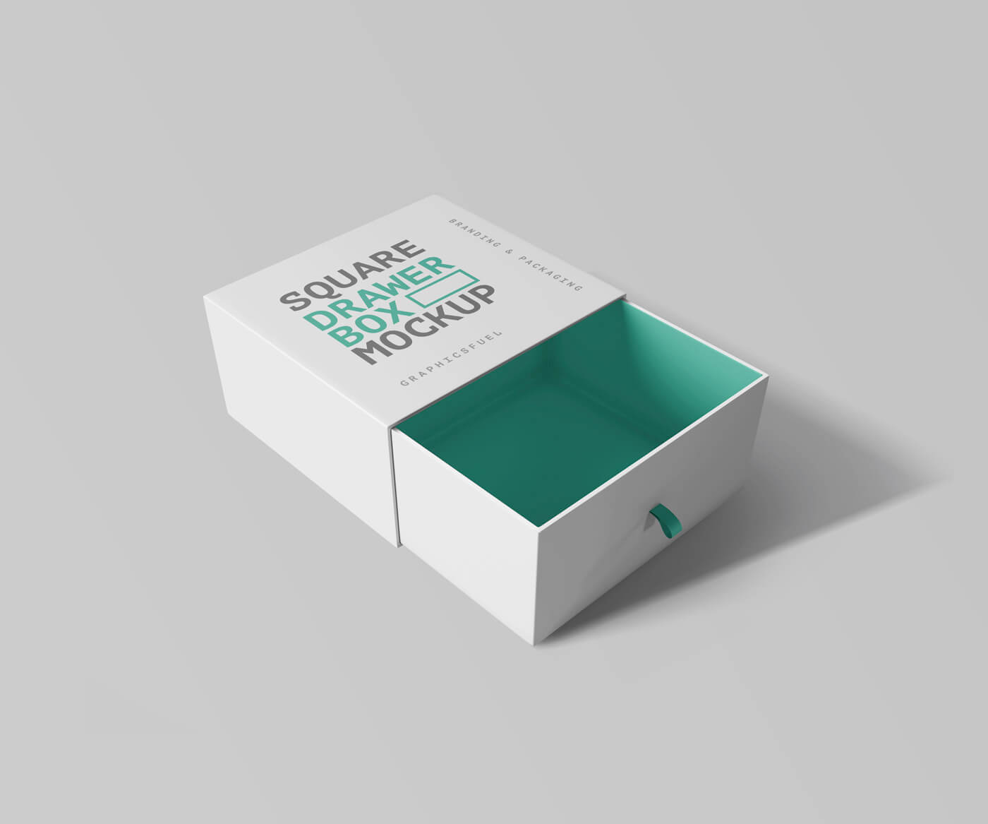 Free Designer Sleeves Drawer Box Mockup PSD Template