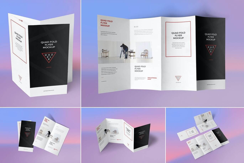 4 Fold Brochure Mockups (1)