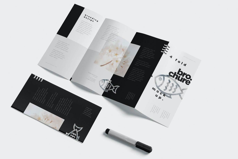 4 Fold Brochure Mockups (2)